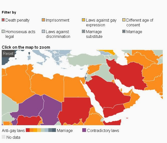 homosexuality in the middle east Homosexuality in the middle eastthe topic of homosexuality has always been controversial, many would say it still is today this is not only true in the middle.